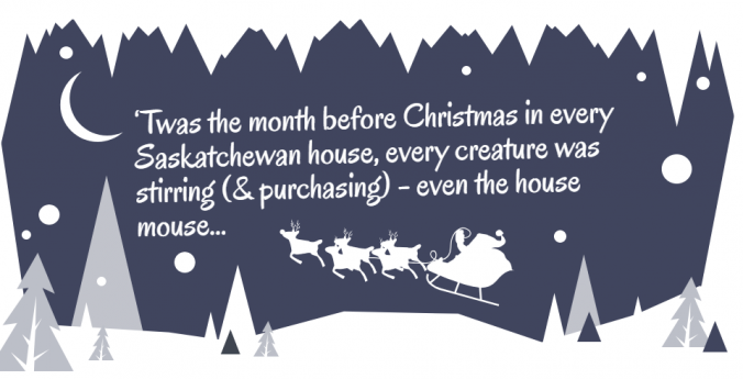 Holiday purchase intentions, Insightrix, SaskWatch Research